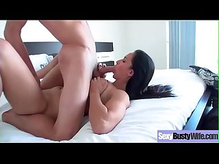 (Isis Love) Sexy Cute Busty Housewife In Sex Hardcore Tape vid-11