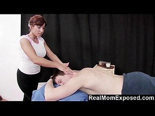 Realmomexposed experienced masseuse can t resist a young cock