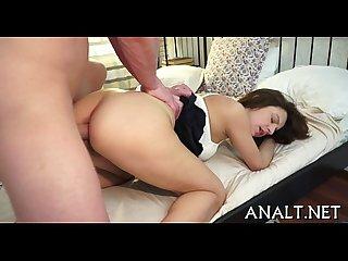Erotic rear slamming