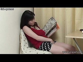 Teenage busty japanese masturbating reading porn