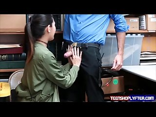 Asian teen jade noir is back in trouble and wants dick discipline