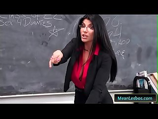 Hot and mean punishable behavior with giselle palmer romi rain free clip 01