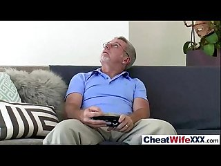Sex On Tape With Sluty Cheating Housewife (riley reid) vid-18