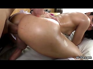 Tgirl bride gabriella andrade ass rammed and jizz blasted