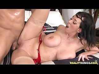 Alia janine gets her big melons Worshiped while she sucks