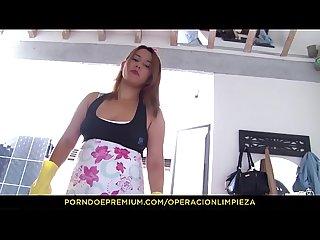 Operacion limpieza la criada de colombia ngela rodr guez follada al estilo perrito