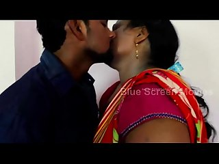 Mallu Aunty with husband friend romance new telugu short films