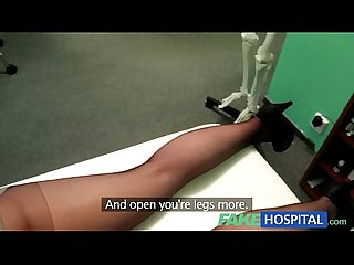 Fakehospital hidden cameras catch patient using massage tool for an orgasm