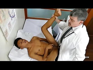 Doctor daddy mike fucks asian boy