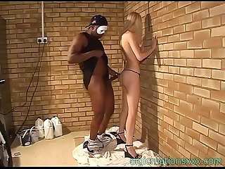 Perfect blonde nicole mason fucked by black man