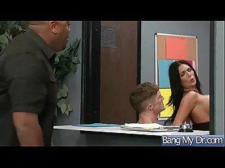 Sex Adventures At Doctor With Horny Sluty Patient (emily b) video-07
