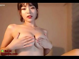 Korean beauty big tits massage