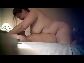 Chubby Cheating Couple on cam