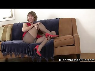 American moms in pantyhose part 5