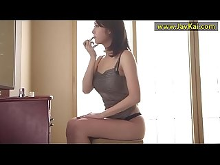 JAV Crazy Japanese whore Riri Kuribayashi in Horny Doggy Style, Blowjob JAV scene