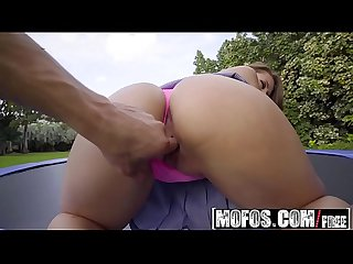 Mofos pervs on patrol big tit babe twerks on trampoline starring ivy rose and bambino