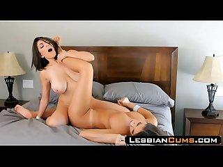 Lesbiancums com august ames tribbing lesbian girlfriend