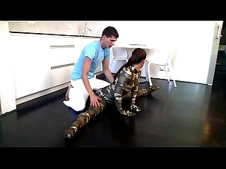 Flexi spandex contortion sex