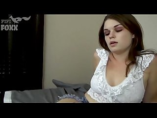 Daddy's Little Nympho: Sex Addict Daughter Seduces Dad - POV, Brunette, Teen -..