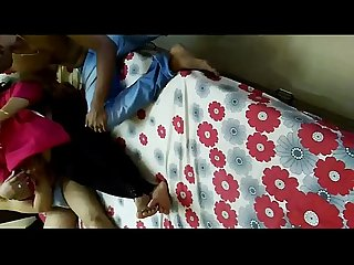 Manisha Aunty S threesome by young guys and her husband records