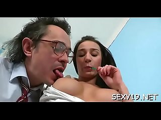 Oral stimulation for aged teacher