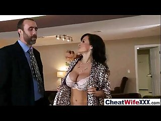 lisa ann sexy lovely wife like to cheat in hard sex style action tape movie 18