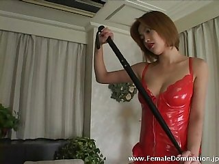 Mistress is fierce as she slashes her slave s back endlessly