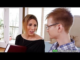Teen Fucks Her Nerdy Virgin Stepnephew