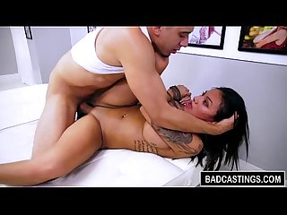 Babe s in for an unexpected bdsm casting