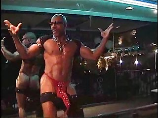 the Artist from D.C. (Black Male Stripper)