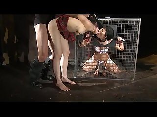 Cruel punishment.BDSM movie.Hardcore bondage sex.