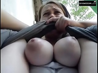 Girl with big tits masturbates and squirt close to camera sexowebcam online