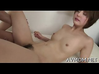 Finger fucking asian whore mommy