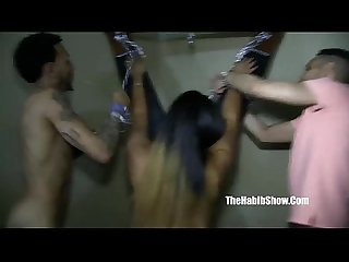 thick phat leona banks fuck gnagbang threesome dominican style