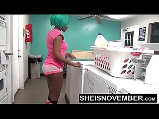 Blowjob in public laundromat by stranger Msnovember