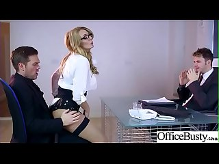 lpar stacey saran rpar big round juggs Girl like hard Bang in Office clip 32