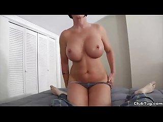 Clubtug horny mature lady handjob