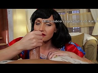 Snow white oily handjob on big dick pov with kathia nobili part 1