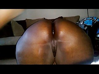 Almost caught anal pounding phat ass bbw