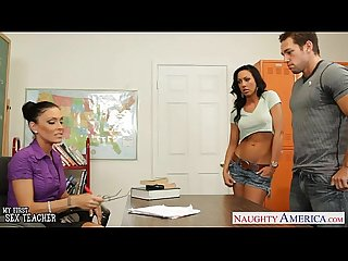 Sex teacher jessica jaymes fuck in threesome