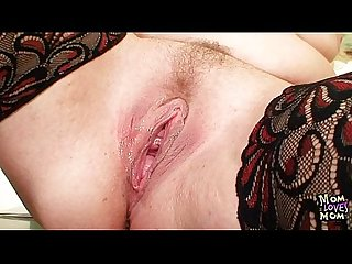 Busty Milf Teacher fucks herself with a dildo