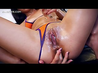 Shrima Malati sitting on Jean-Marie Corda's hard dick with her young tight asshole, see it's..