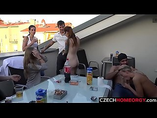 Open Air Sex Party in centre of Prague