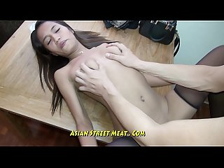 Pure petite bugger bitch gets thai membranes pounded