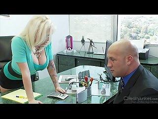 Angel vain office fuck