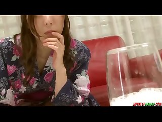 Full fantasy POV blowjob by nude Mirei Yokoyama - More at Japanesemamas com