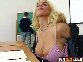 Slutty big tit teacher fuck 1 002