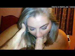 Madura pide semen en Su boca