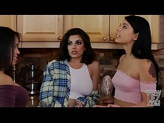 Helpful lesbians darcie dolce and emily mena
