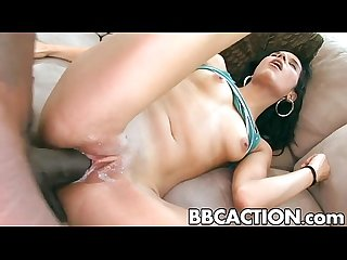 Big black cocks turns Tia Cyrus onon